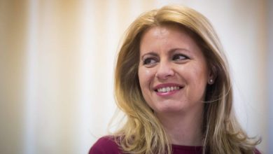 Photo of In poll debut, Caputova becomes Slovakia's first female president