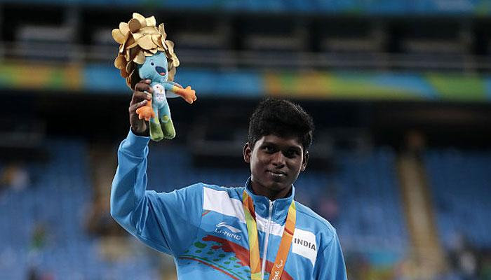 Gold winner Mariyappan Thangavelu