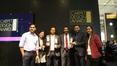 Photo of Jaipur Rugs bags 3 awards at Carpet Design Awards 2020