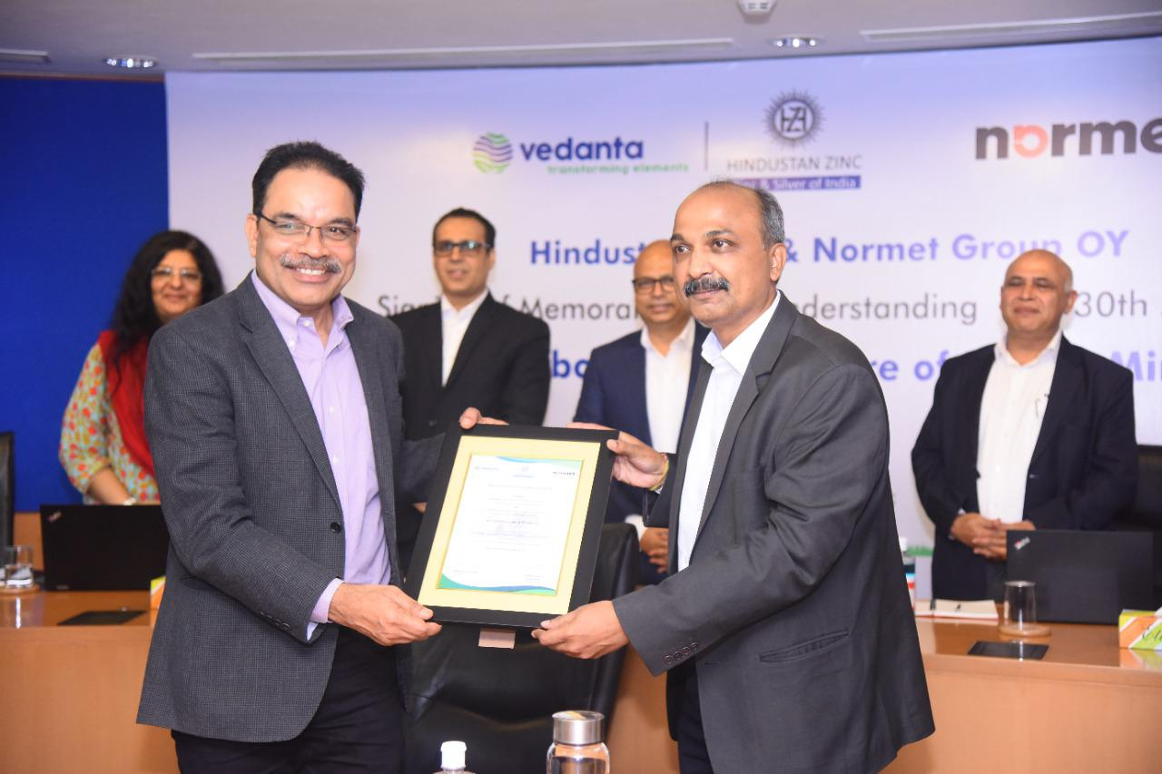 Hindustan Zinc in partnership with Normet Group Oy introduces Normet SmartDrive